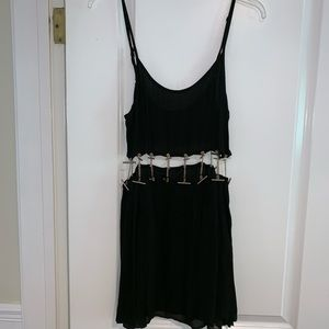 Rehab black mini dress